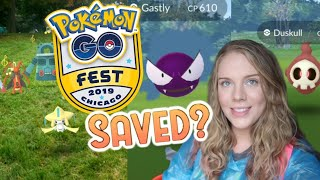Go Fest SAVED? Pokemon Go Fest Chicago 2019 | Part Two | Full Jirachi Special Research Quest Line