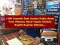 1180 Gramlık Özel Jumbo Double Kasap Sucuklu Atom Tost Nasıl Yapılır?
