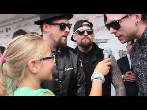 Kids Interview Bands -  Good Charlotte (Joel Madden, Benji Madden, Billy Martin)