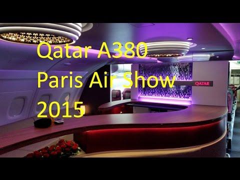 Qatar Airways A380 | First class - Business class - Economy class tour