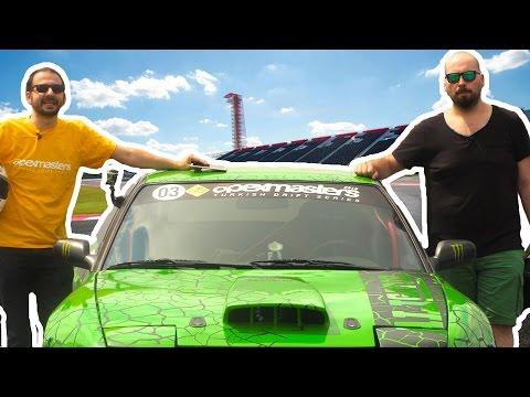 İlginç - Drift Yapan Yarış Arabasında Oyun Oynadık