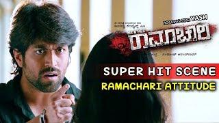 Yash Movies | Yash Gets Angry On Radhika Kannada Scenes | Mr And Mrs Ramachari Kannada Movie