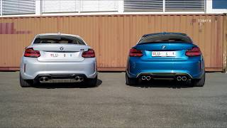 BMW M2 Competition vs BMW M2 Soundcheck