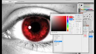 Adobe Photoshop Tutorials - Change Eye Color/ Multi-Colored Eyes