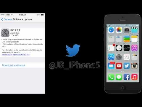 iOS 7.0.2 Update - What's New!
