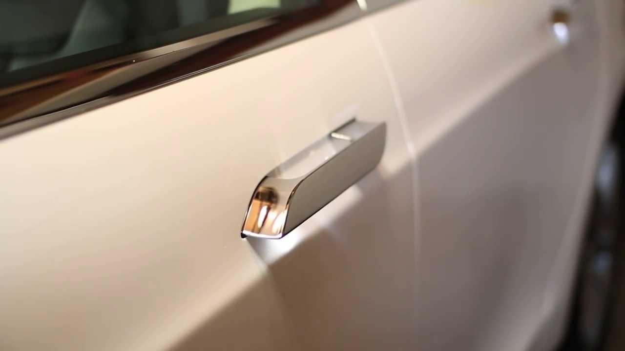 Tesla Model S Door Handle New Version Youtube