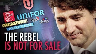 Ezra Levant: Trudeau gives $595M to media — but The Rebel isn't for sale