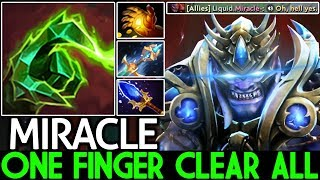 Miracle- [Lion] One Finger Clear All Pro Solo Mid 7.21 Dota 2
