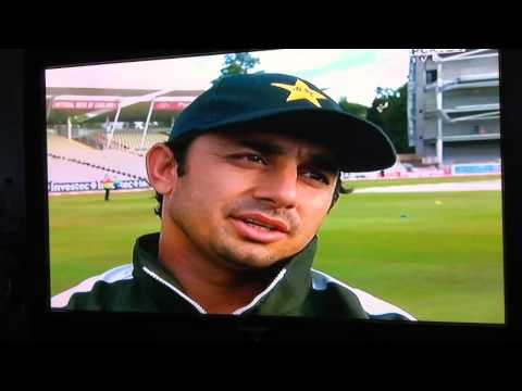 Saeed Ajmal's Superb English Interview - Must Watch