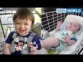 WILLIAM & BENTLEY! Let's ride a trolley! XD [The Return of Superman2018.04.15]
