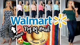 WALMART TRY ON HAUL | UNDER $20 | SPRING & SUMMER ☀️