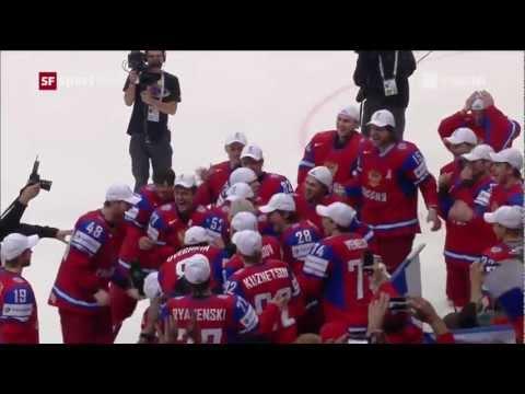 Final RUSSIA SLOVAKIA 6:2 Goals IIHF WC 2012 ЧМ голы Россия Словакия финал