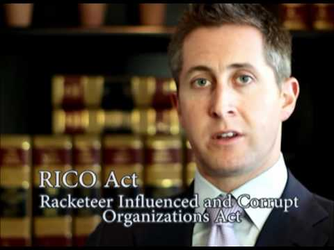 rico act of 1970 The federal racketeering influenced and corrupt organizations (rico) law was  passed in 1970 as the ultimate hit man in mob prosecutions  the criminal  rico statute provides for prison terms of 20 years and severe financial penalties.
