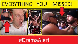 Everything you MISSED at KSI vs Logan Paul #DramaAlert (SHOCKING FOOTAGE)