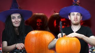 Irish People Try Celebrity Pumpkin Carving