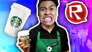 STARBUCKS TYCOON! FRAPPE PLEASE! | Roblox