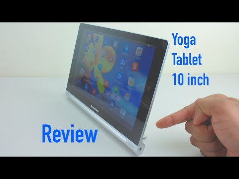 Lenovo Yoga Tablet 10 Review - 10 inch Android Tablet - with Latest Software Update