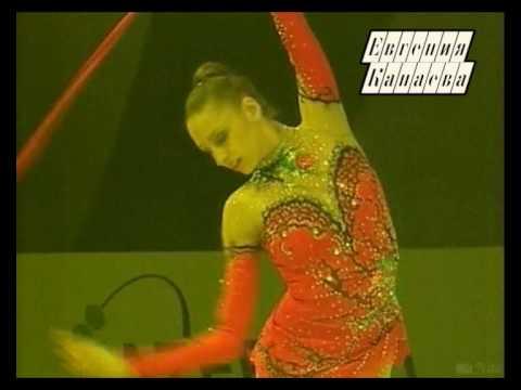 ЧЕ-2009. Евгения Канаева. Показательные выступления