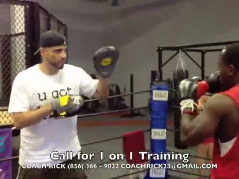 Coach Rick: Boxing Focus Mitt Training - Developing the Jab / Mayweather Padwork Instruction Image 1