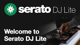 Welcome to Serato DJ Lite