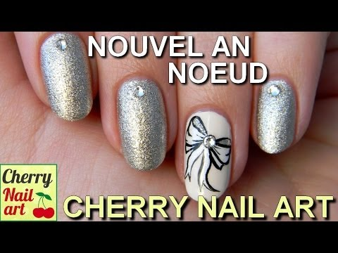 Nouvel an nail art noeud youtube - Nail art nouvel an ...