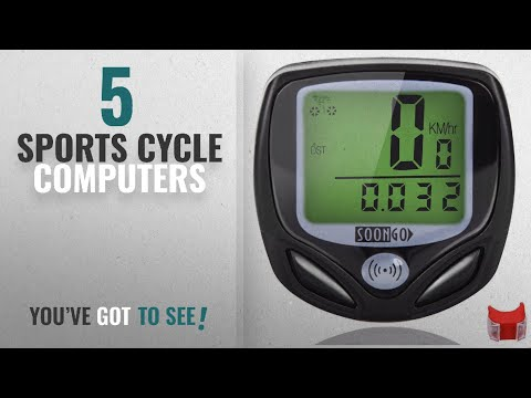 Top 10 Sports Cycle Computers [2018]: Bike Computer Speedometer Wireless Water-proof Bicycle