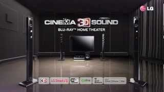 LG BH9520 - Cinema 3D Sound Home Theater