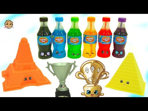 Trophies + Colorful Sodas - DIY Shopkins Inspired Dollar Tree Do It Yourself Craft Video