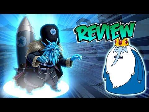 EL REY HELADO ZIMNYAYA !! Review Monster Legends