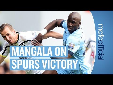 """CONFIDENT FOR NEXT SEASON"" Tottenham 0-1 City   Eliaquim Mangala Post Match Interview"