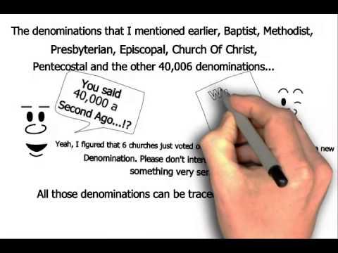 Catholic vs Protestants, Methodist, Baptist - Explained
