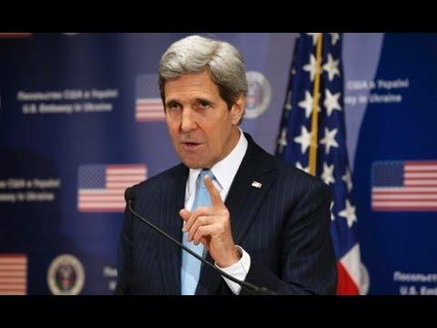 The Beast : Serpent Tongue Kerry's New World Order Speech of the Beast in Kiev (Mar 04, 2014)