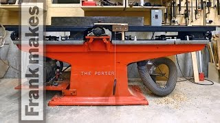 The Porter Heavy Pattern Jointer