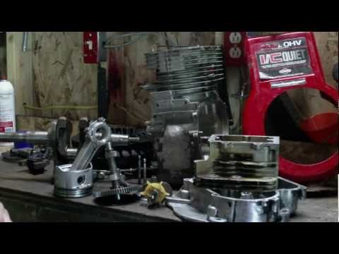 Briggs and Stratton 14.5 HP OHV Reassembly. Then i stripped the crankshaft threads (Old Update)