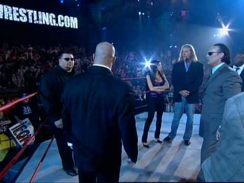 Tna: Sting Takes Control Of Main Event Mafia video