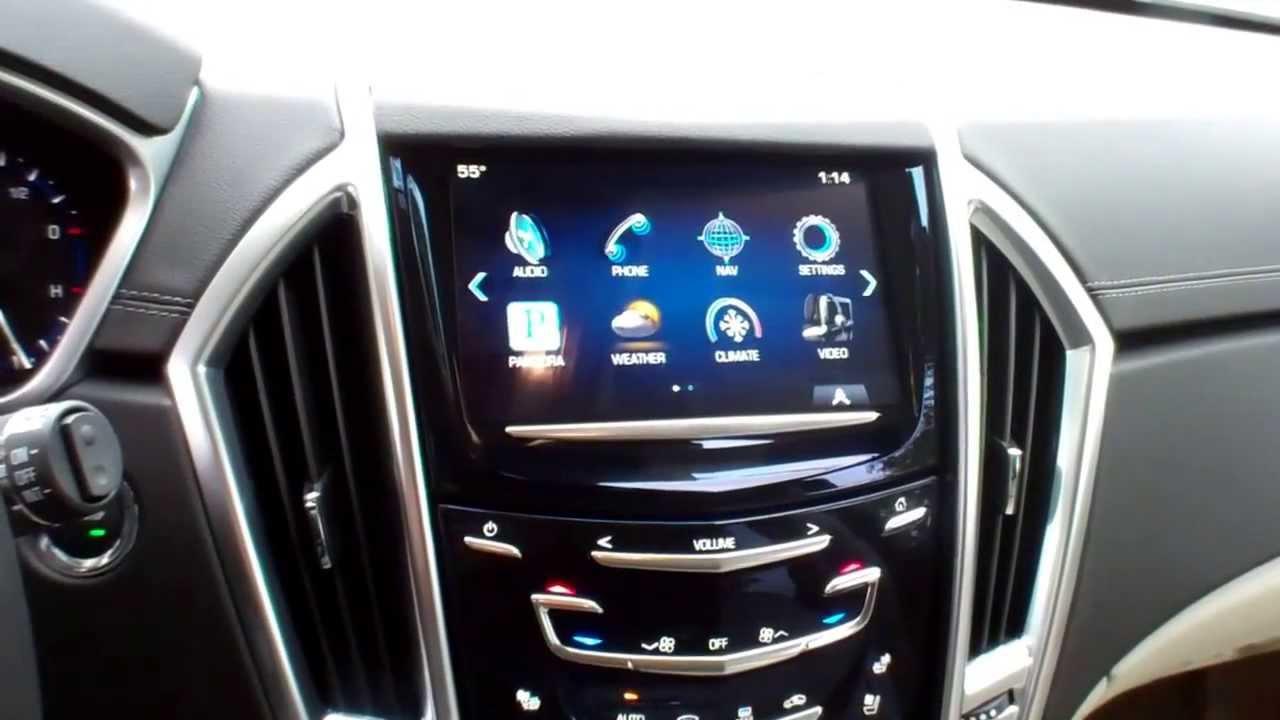 2013 Cadillac Srx >> 2013 Cadillac SRX First Look - YouTube