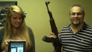 AK-47 vs. iPad (With bulletproof glass, of course)