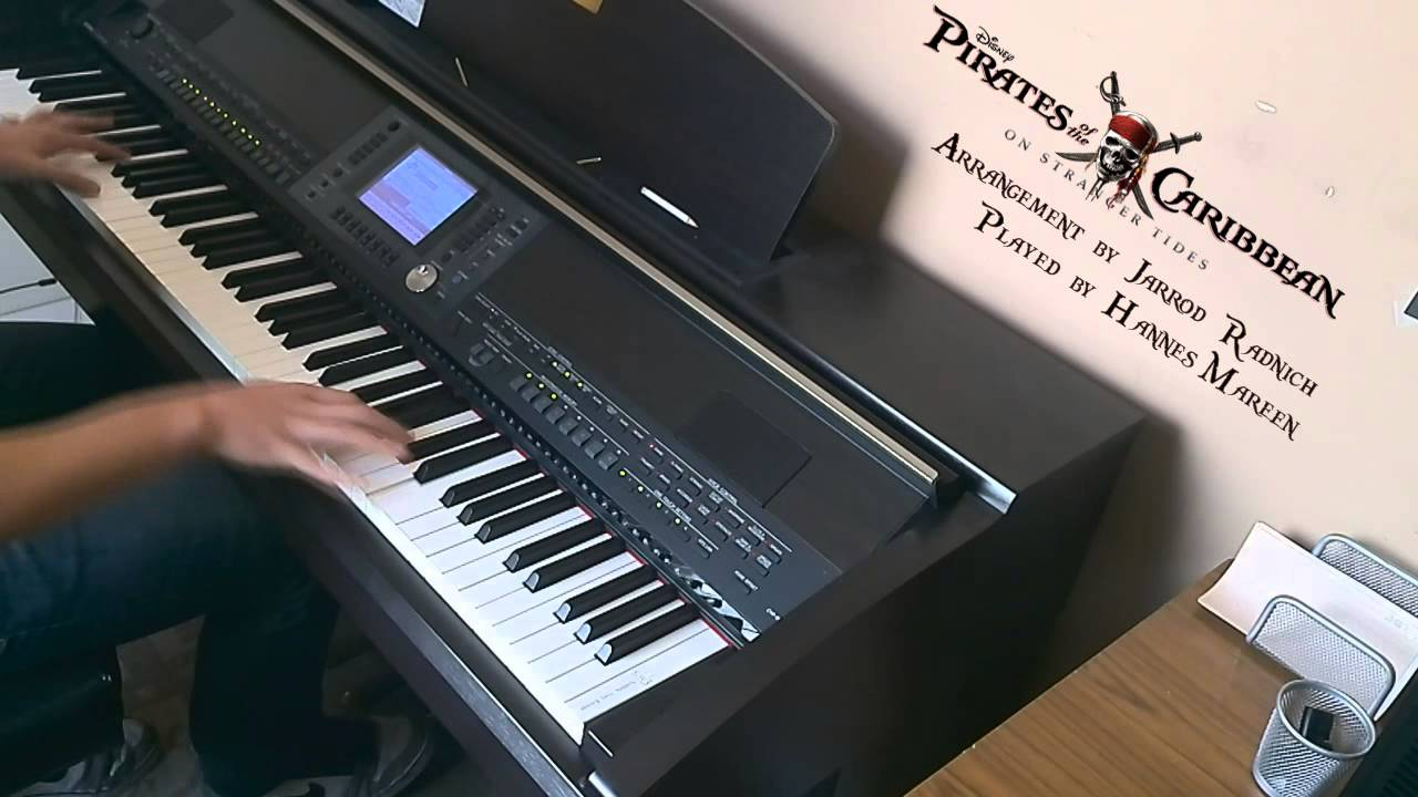how to play pirates of the caribbean medley on piano