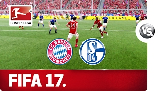FC Bayern vs. FC Schalke 04 - FIFA 17 Prediction with EA Sports
