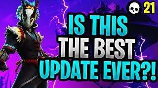 Is This Really The Best Change To Fortnite EVER? (Fortnite Scavenger Pop Up Cup)