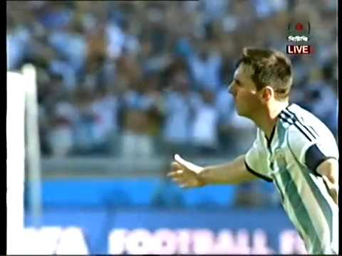 Messi's Winning Goal Against Iran