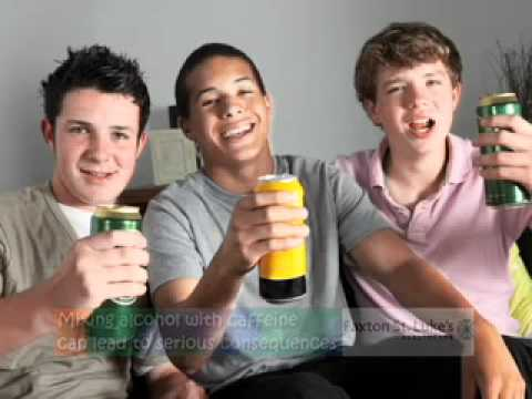 Fit Kids - Dangers of Mixing Alcohol & Caffeine