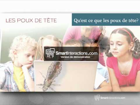 Poux exemple de video par Smartinteractions
