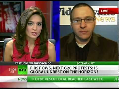 G-20 protests join forces with the Occupy Wall Street movement