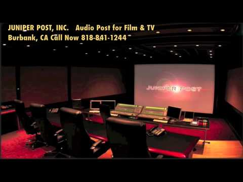 Juniper Post, Mixing, Recording, Sound Editing, Sound Effects, Foley, ADR, Audio Post for Film & TV