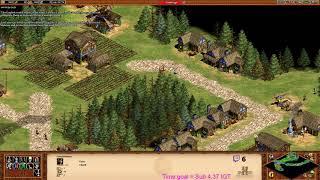 Age of Empires 2 HD - William Wallace 6 Speedrun 4:36