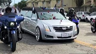 The Day Nipsey Hussle Was Laid To Rest - Memorial and Funeral Procession
