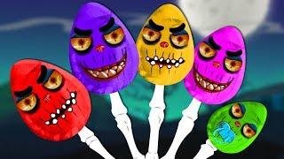 Scary Eggs | Finger Family | Scary Song for Children