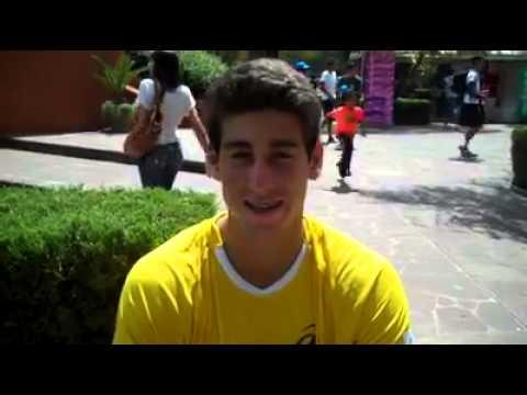 Orlando Luz, Orlandinho, na equipe da Copa Davis Juvenil Sub-16 2014