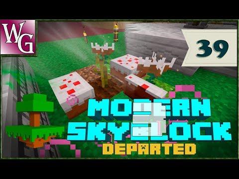 Modern skyblock 3 departed - торт без выпечки №39